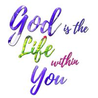 God is the Life within you Thumbnail